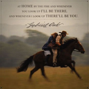 far from the madding crowd quote