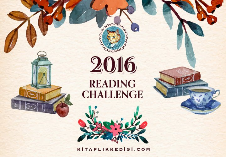 Kitaplık Kedisi ReadingChallenge 2016