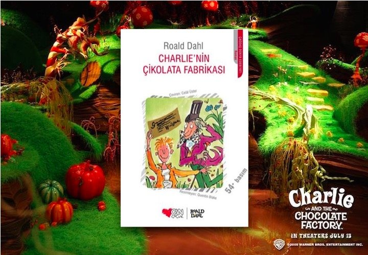 Charlie'nin Çikolata Fabrikası – Roald Dahl