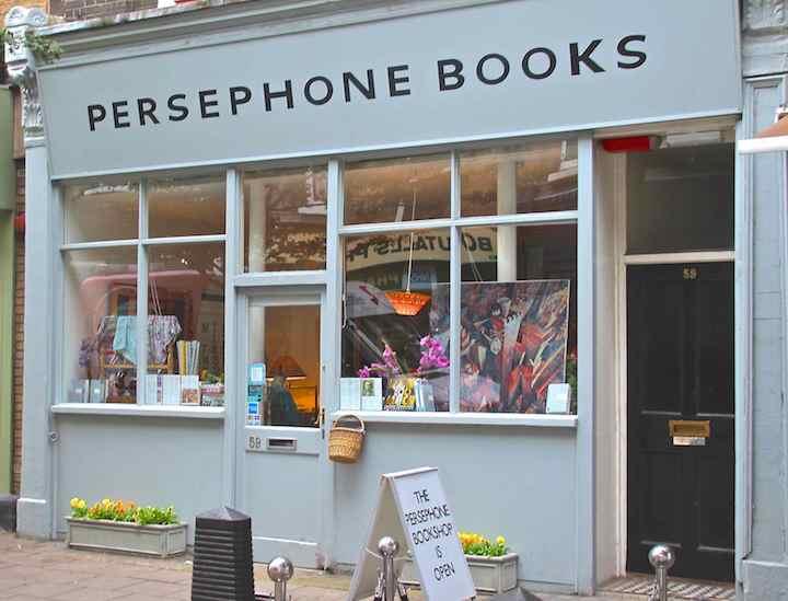 Persephone Books – Londra'nın En Güzel Kitapçılarından!