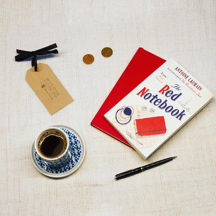 The Red Notebook – Antoine Laurain