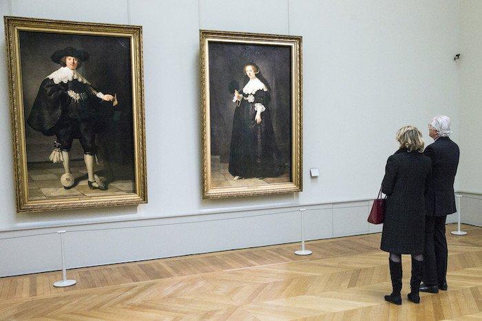 maerten soolmans ve oopjen coppit portreleri rembrandt