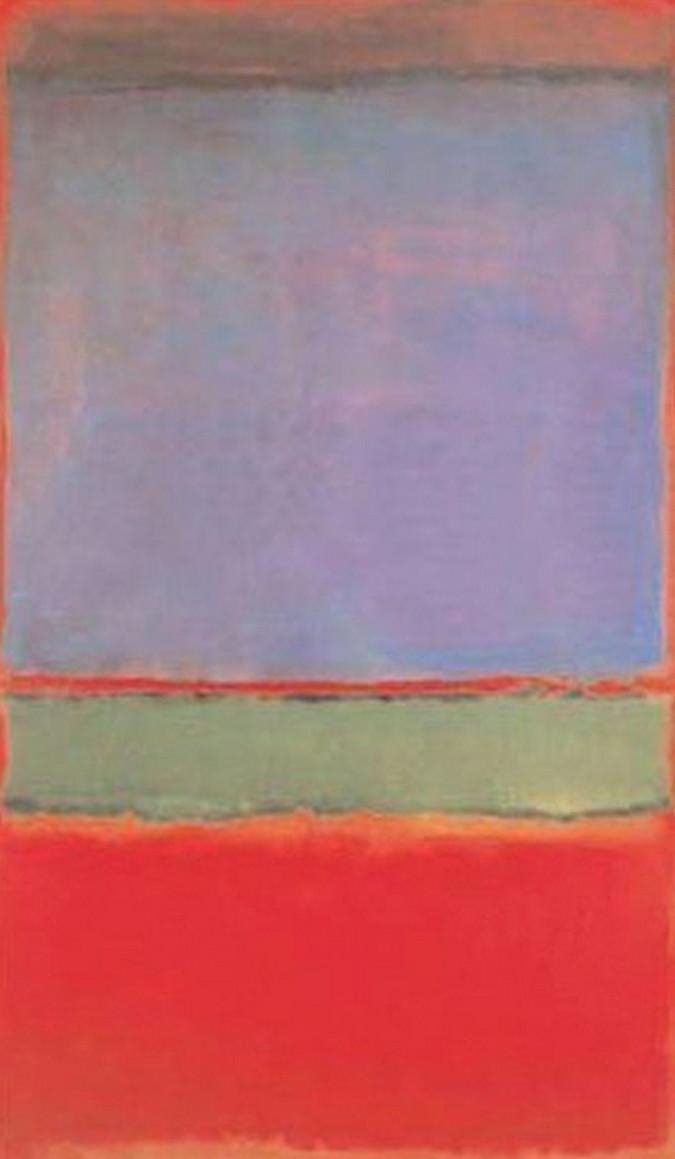 no 6 violet green and red mark rothko