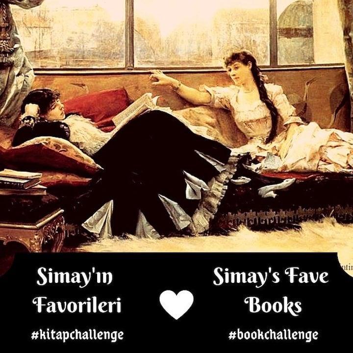 Simay'ın Favorileri: kitapchallenge ile Simay'ı Okuyorum!