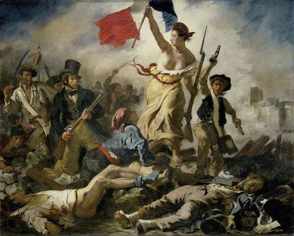 Liberty Leading the People - Eugene Delacroix