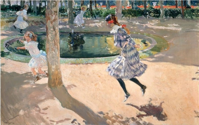 The Skipping Rope Joaquín Sorolla - 1907